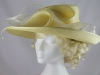 Failsworth Millinery Buttermilk Events Hat
